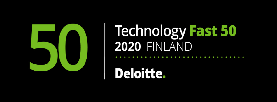 Technology Fast 50, 2020 Finland